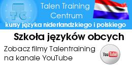 Filmy Talen Training Centrum Szkoła Języków Obcych na YouTube